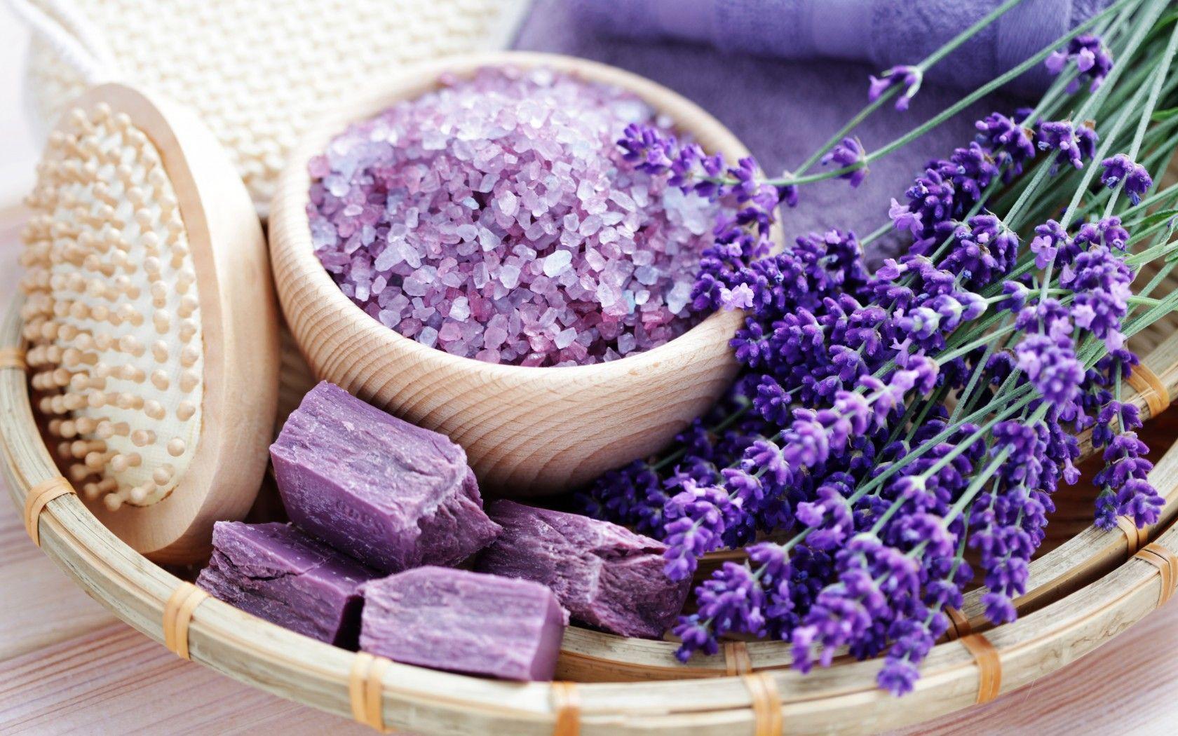 spa_soap_lavender_salt_relax_flowers_natural