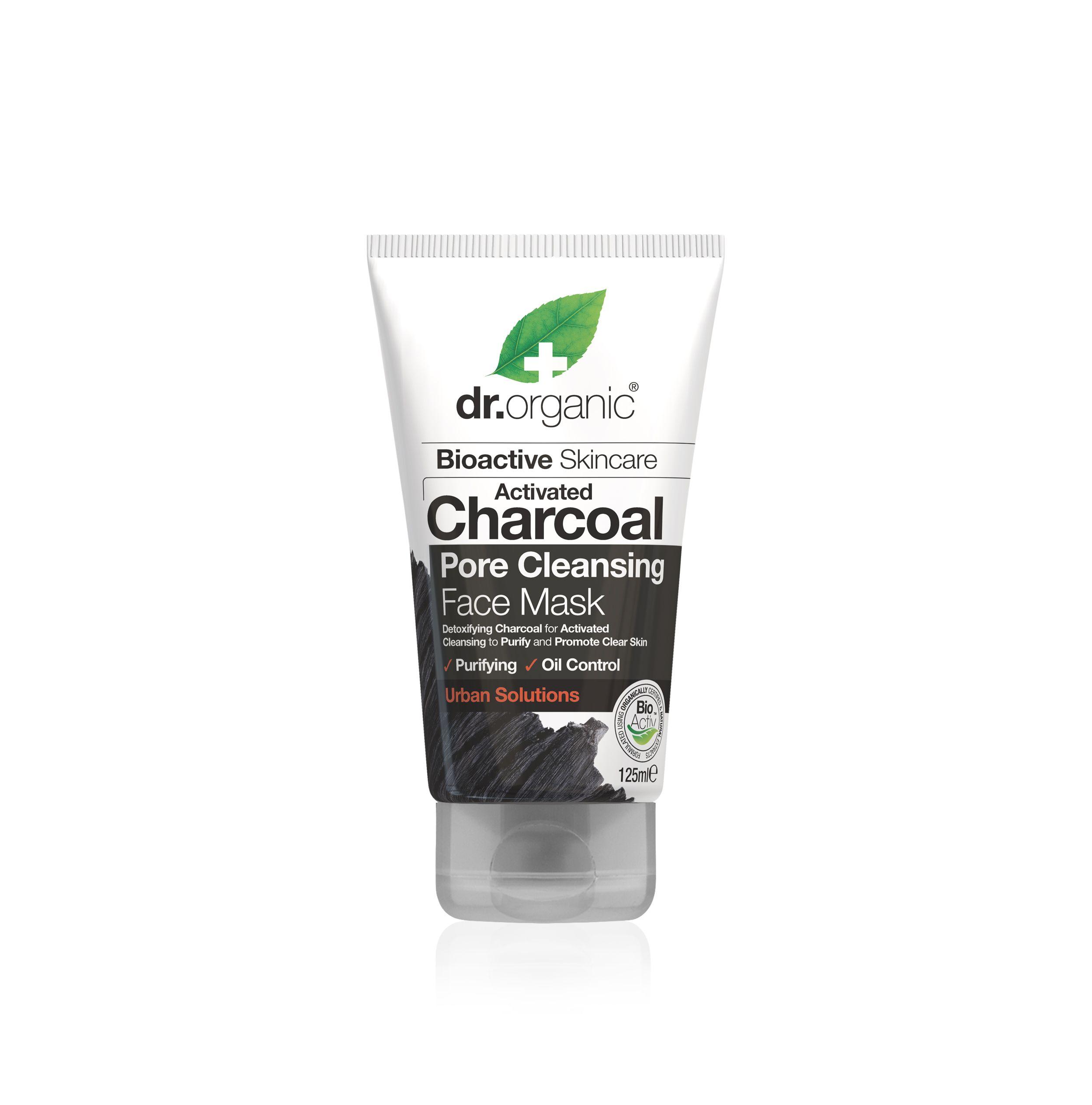 Aktivni ugljen pročišćavajuća maska za lice 125 ml dr organic