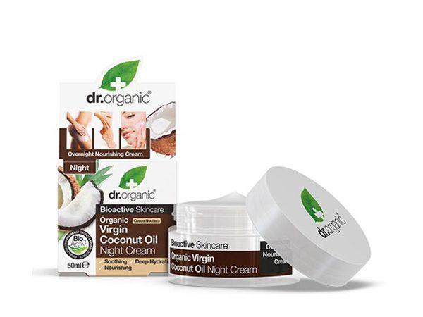 Kokosovo-ulje-noćna-krema-dr-organic